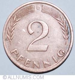 Image #1 of 2 Pfennig 1962 D