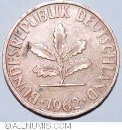 Image #2 of 2 Pfennig 1962 D