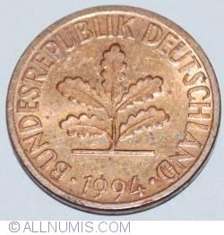 Image #2 of 2 Pfennig 1994 A