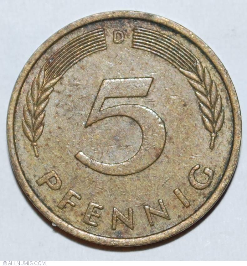 1975 bundesrepublik deutschland coin value 1