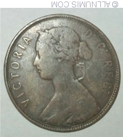 Image #2 of 1 Cent 1872