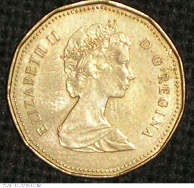 1 Dollar 1988 Elizabeth Ii 1953