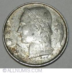 Image #2 of 1 Franc 1981 (België)