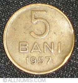 5 Bani 1957