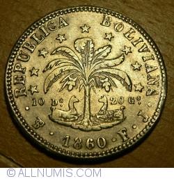 Image #2 of 4 Soles 1860