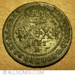 Imaginea #1 a 20 Reis 1821