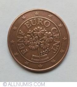 Imaginea #2 a 5 Euro Centi 2002