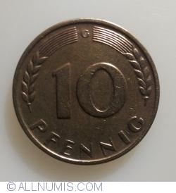 Image #1 of 10 Pfennig 1950 G