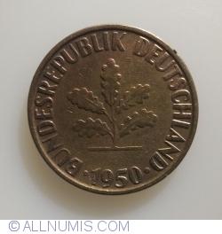 Image #2 of 10 Pfennig 1950 G