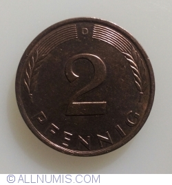 Image #1 of 2 Pfennig 1995 D