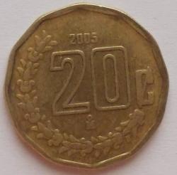 Image #1 of 20 Centavos 2005
