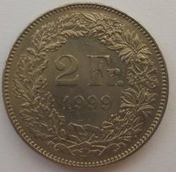 Image #1 of 2 Francs 1999