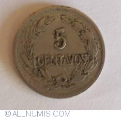 Imaginea #1 a 5 Centavos 1919