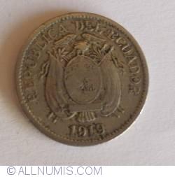 Imaginea #2 a 5 Centavos 1919