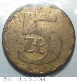 5 Zlotych 1983