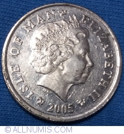 Image #2 of 10 Pence 2005 AA