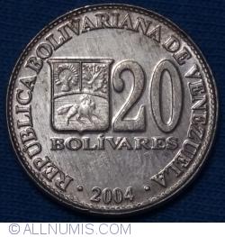 Image #1 of 20 Bolivares 2004