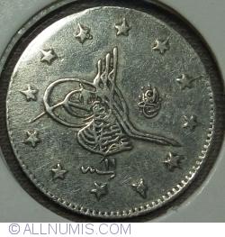 Image #2 of 2 Kurus 1885 ( 1293 - ١٢٩٣ /11 -١١ )