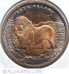 Imaginea #2 a 1 Lira 2011 - Asian Lion
