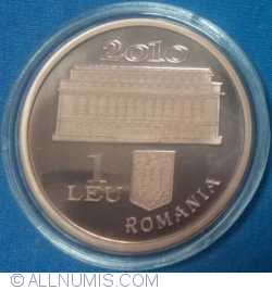 Image #1 of 1 Leu 2010 - 130th Anniversary of the National Bank of Romania