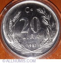 20 Lira 1981 (FAO)
