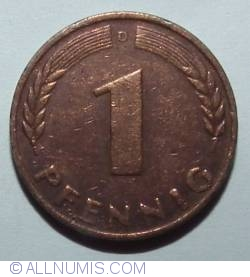 Image #1 of 1 Pfennig 1949 D