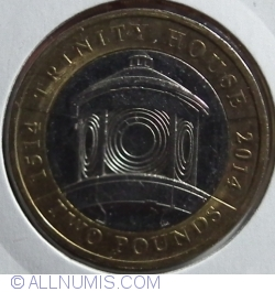Image #1 of 2 Pounds 2014 - 500th Anniversary of the Trinity House