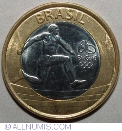 Image #2 of 1 Real 2014 - Rio Olympics 2016 - Atletism