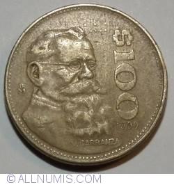 Image #2 of 100 Pesos 1990