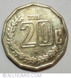 Image #2 of 20 Centavos 2009