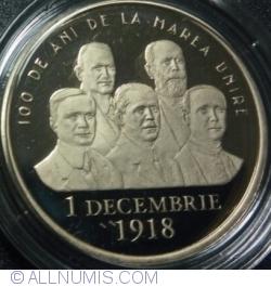 50 Bani 2018 - 100 de Ani de la Marea Unire din 1 Decembrie 1918