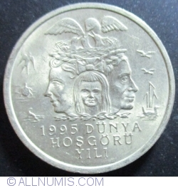 Image #2 of 25,000 (25 Bin) Lira 1995 - Environmental protection