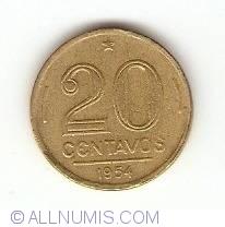 Image #1 of 20 Centavos 1954