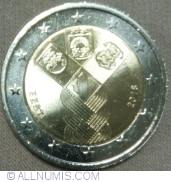 Image #2 of 2 Euro 2018 - Centenary of independent Baltic States