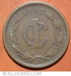 Image #2 of 1 Centavo 1942