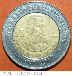 Image #2 of 5 Pesos 2009 - Andres Molina Enriquez