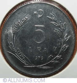 Image #1 of 5 Lira 1979