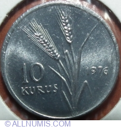 Image #1 of 10 Kuruș 1976 - FAO