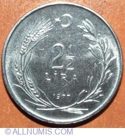 2 1/2 Lira 1977 - FAO