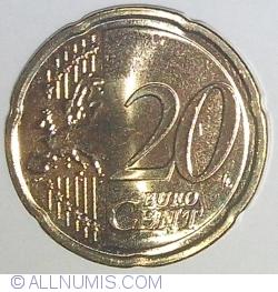 20 Euro Centi 2015