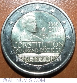 Image #2 of 2 Euro 2018 - Constitution of Luxembourg