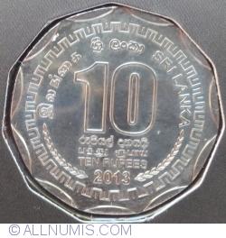 Image #1 of 10 Rupees 2013 - District Series - Batticaloa