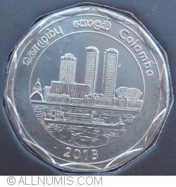 Image #2 of 10 Rupees 2013 - District Series - Colombo