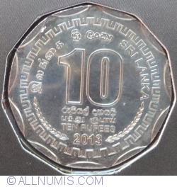 Image #1 of 10 Rupees 2013 - District Series - Colombo