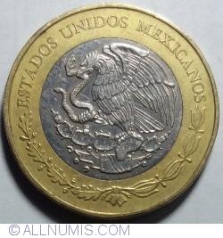 Image #2 of 20 Pesos 2014 - Centenary of Heroic Defense of Veracruz