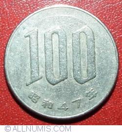 100 Yen 1972(47)