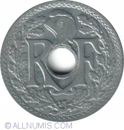 Image #2 of 10 Centimes 1941 Year With Points