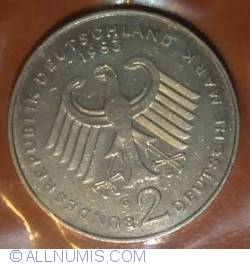 2 Mark 1983 G - Theodor Heuss