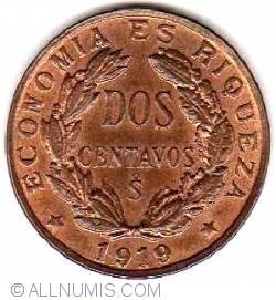 Image #1 of 2 Centavos 1919
