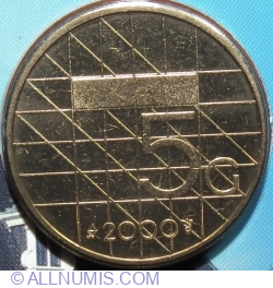 Image #1 of 5 Gulden 2000